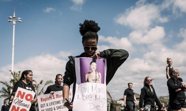Les violences faites aux femmes cause nationale en Afrique du Sud