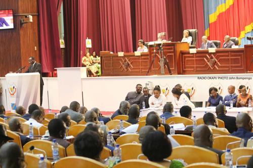 Assemblée nationale : Jacques Lungwana du MLC élu rapporteur adjoint