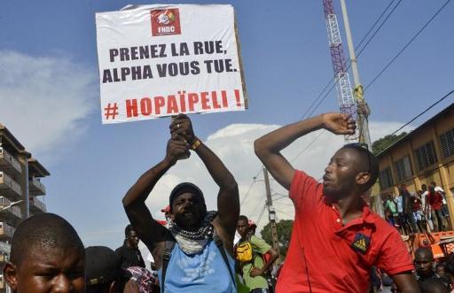 Guinée: 70 tués dans des manifestations contre le président Alpha Condé depuis 2015