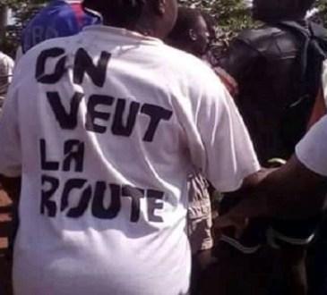 Les populations de Mimongo réclament la réhabilitation de la route