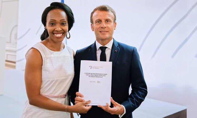 Le CPA a présenté l'initiative « Carnets de santé en Afrique » au Président Emmanuel (...)