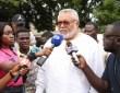 L'ex président du Ghana Jerry John Rawlings apporte son soutien à Nathalie Yamb et tacle Ouattara et Macron