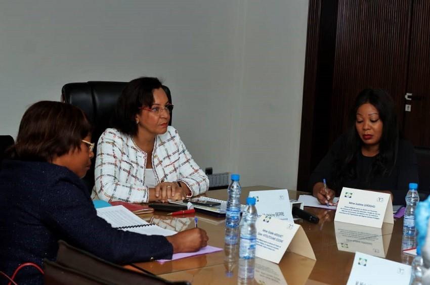 Gabon/Employabilité des Jeunes : Madeleine Berre dresse le bilan
