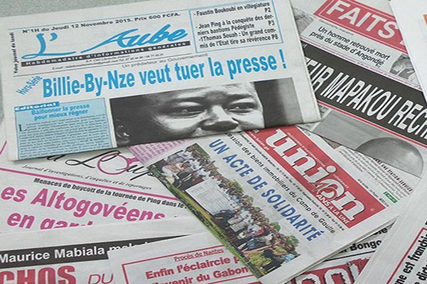 Gabon / Médias : La revue de la presse gabonaise de la semaine du 20 au 26 janvier 2020