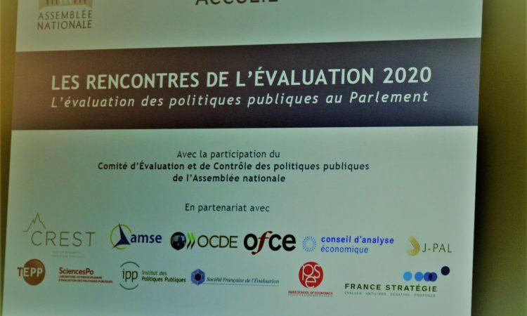 """Assemblée nationale : 2ème édition des """"RENCONTRES DE L'ÉVALUATION 2020"""""""