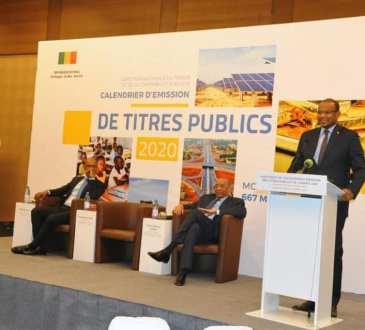 Discours du Premier Ministre à la cérémonie de lancement du calendrier d'émission des titres publics de l'année 2020 (Bamako, le 27 février 2020)