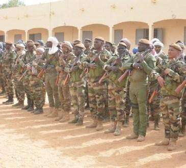 Gao : Les commandants des théâtres de l'Opération « Maliko » rencontrent le bataillon des Forces Armées reconstituées