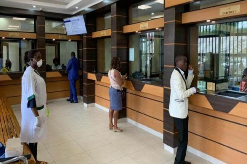 Gabon : Le Trésor Public applique les mesures de distanciation contre le coronavirus