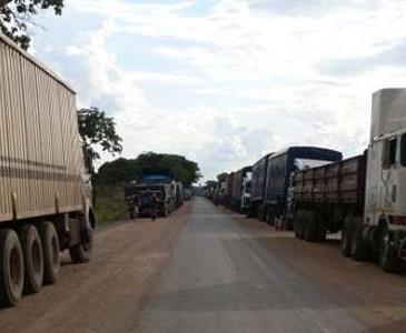 Haut-Katanga : la frontière de Kasumbalesa fermée