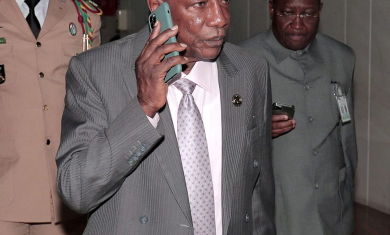 RESULTATS DU REFERENDUM SUR FOND D'INTERDICTION DE MANIFS EN GUINEE - RESULTATS DU REFERENDUM SUR FOND D'INTERDICTION DE MANIFS EN GUINEE