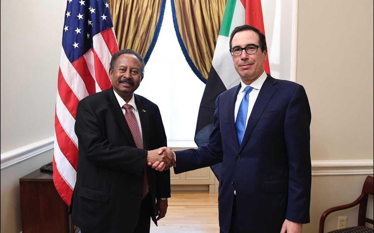 Hamdok et Mark Esper - Washington approuve la nomination du premier ambassadeur soudanais en 22 ans