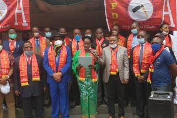 RDC : l'AFDC-a invite ses membres à lutter pour l'éradication de la Covid-19