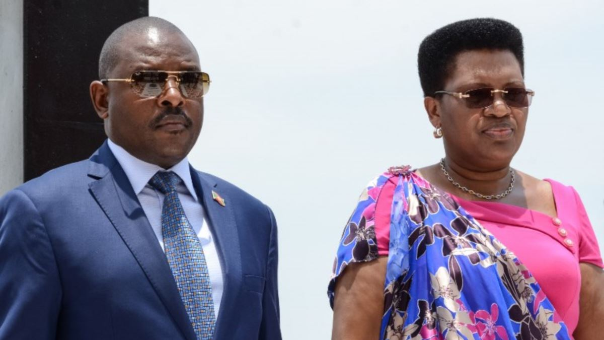 Burundi : Le couple Nkurunziza atteint par le coronavirus?