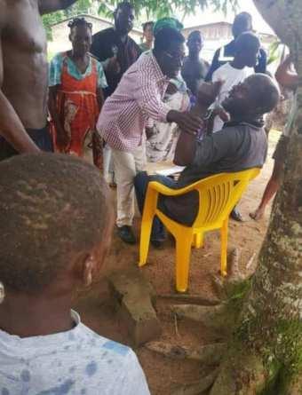 101216270 10219619149021994 3529874620893102080 n 1 - Gabon : Les populations de Kabaga refusent les dons de Noureddin Bongo Valentin