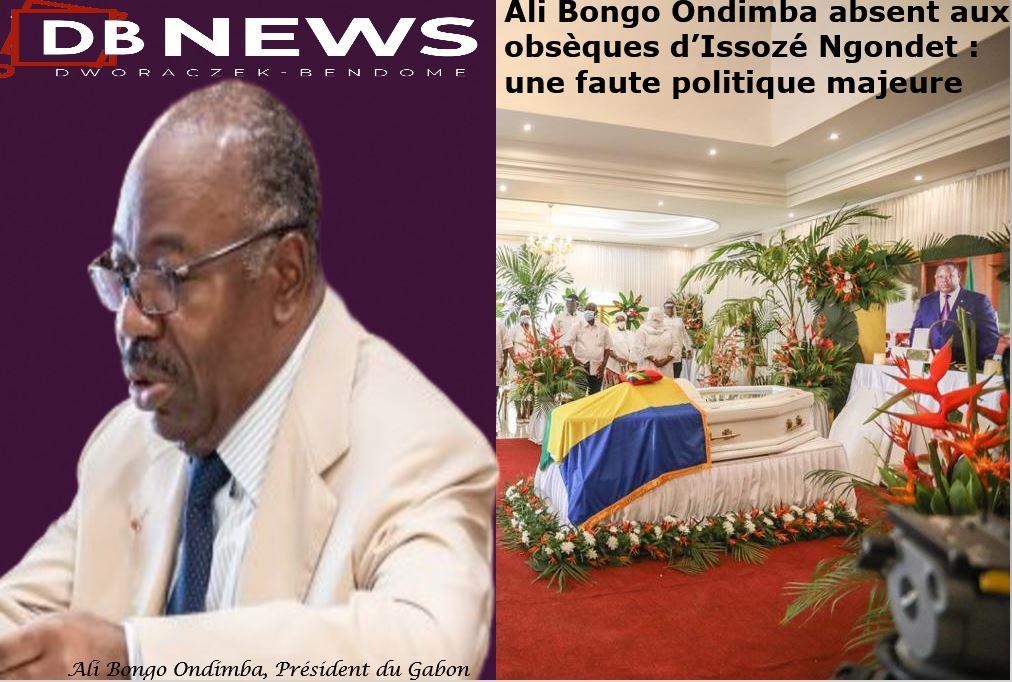 Gabon | Ali Bongo Ondimba absent aux obsèques de son Premier Ministre: une faute politique majeure