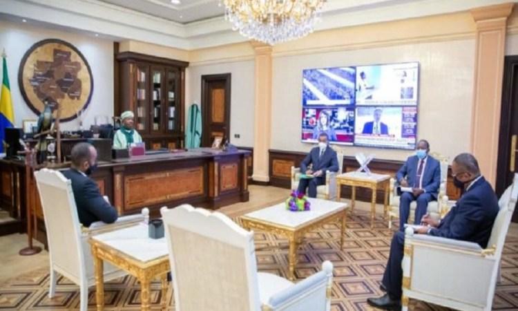 Central African Backbone:Ali Bongo Ondimba satisfait de l'exécution du projet