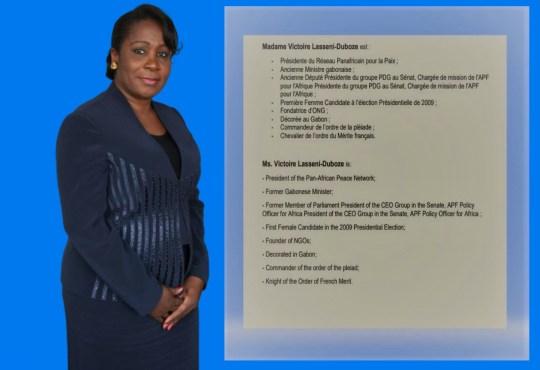 Code pénal | Dépénalisation de l'homosexualité Gabon : Victoire Lasseni-Duboze  appelle au vote d'une motion de censure » contre le 1er Ministre Julien NKOGHE BEKALE