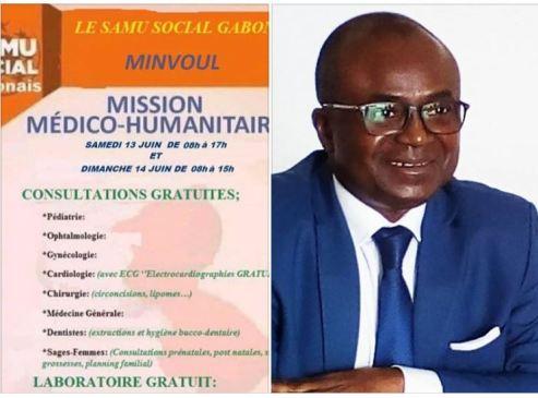 samu social Francis nkea - Chronique du Gabon   SAMU Social Gabonais : et si on parlait gros sous ?