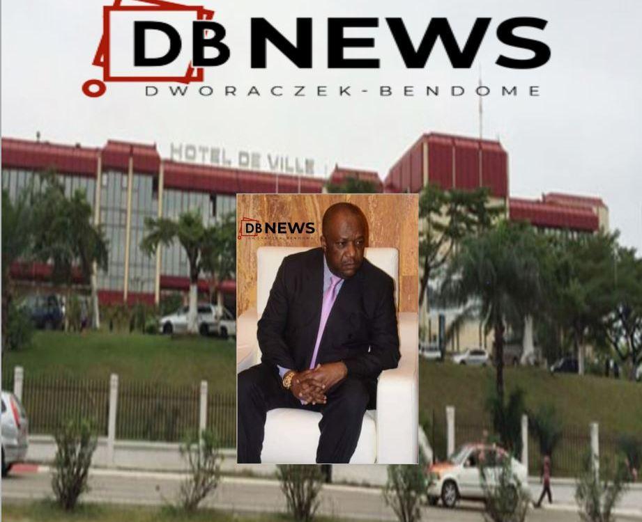 12 09 2020 Mairie de Libreville - GABON : Libreville, Léandre Nzué, le premier Magistrat de la ville dans la tourmente