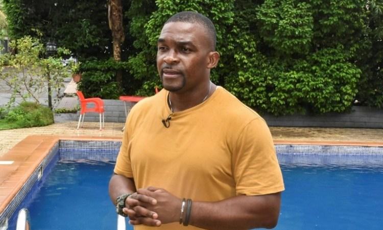 22 09 2020 261ffa75c483e2a2e449001c34407c481cf7f881 - Sport  : natation, 20 ans après les JO de Sydney, Eric Moussambani, l'athlète( poisson-pilote)  venu de la  Guinée équatoriale