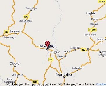Kasaï-Oriental : la ville de Mbuji-Mayi dans le noir