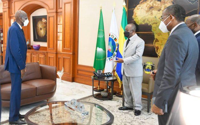 Gabon Apres lambassadeur dAlgerie au tour de celui du - Gabon : Après l'ambassadeur d'Algérie, au tour de celui du Sénégal de venir saluer un Ali Bongo Ondimba hyperactif sur le plan diplomatique
