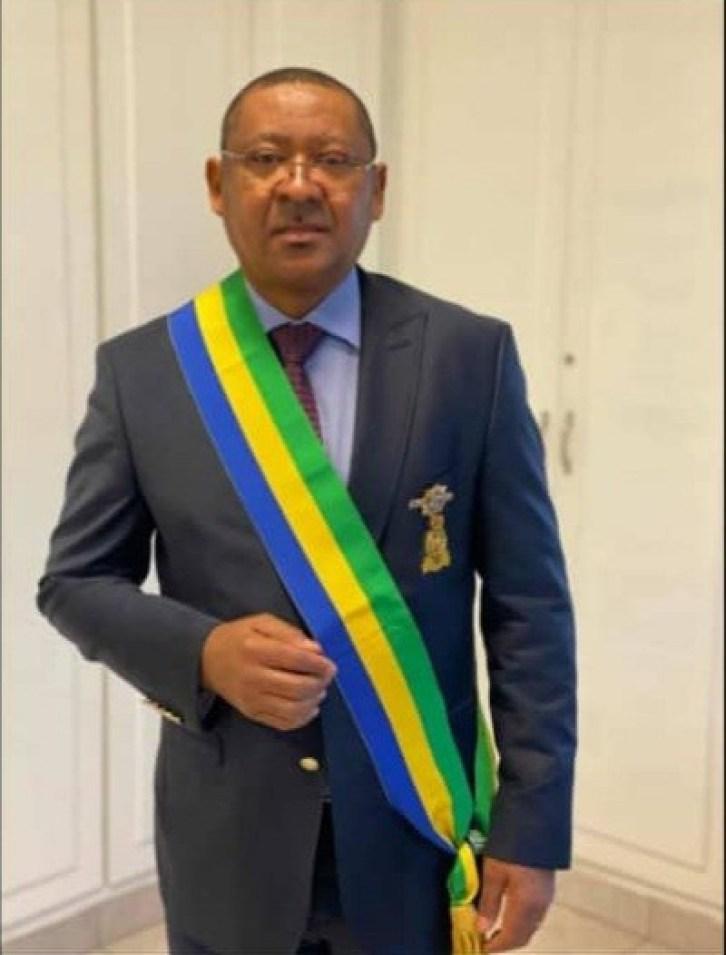 14 decembre 2020 le depute Jean Marie Ogandaga - Gabon : retour à l'Assemblée nationale de l'ancien ministre Jean Marie Ogandaga