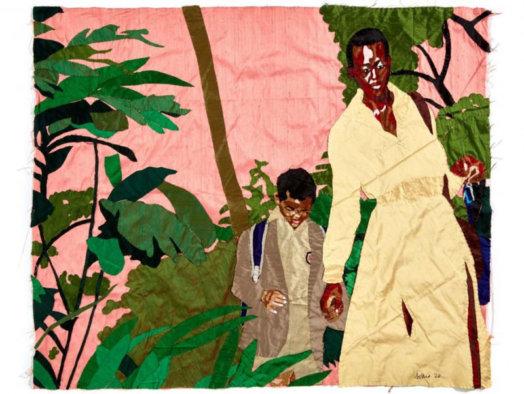 Billie Zangewa 524x394 - «Oh ! AfricArt»: L'art contemporain africain envahit le petit écran