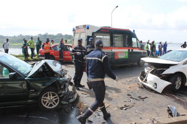 Bouake Sensibilisation Zero accident Les usagers - Côte d'Ivoire: deux morts dans un accident de la circulation sur l'autoroute du nord