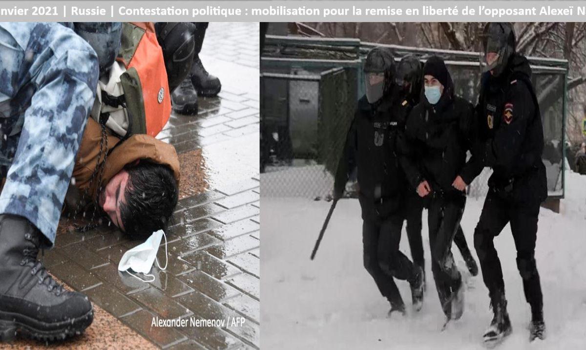 31 janvier 2021 final russie - Russie : manifestations pro-Navalny plus de 4.800 arrestations