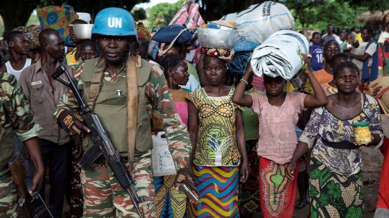 RCA 1 - Centrafrique : 120.000 personnes ont fui les violences