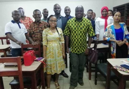Cote dIvoire Medias Alberic Niango en MasterClass avec des - Côte d'Ivoire .Médias : Albéric Niango en MasterClass avec des étudiants de l'ISTC