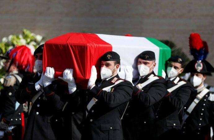 Rome, des funérailles d'Etat pour l'ambassadeur italien tué enRDC
