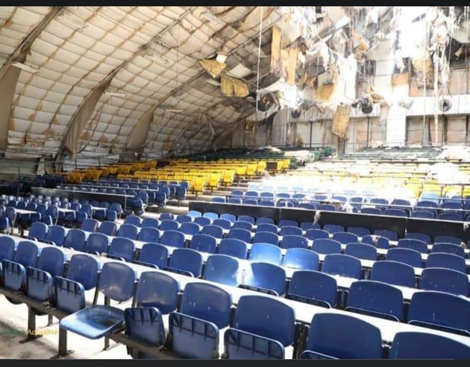 15 mars 2021 lUniversite Omar Bongo UOB Batiment prefabrique en ruine - Université Omar Bongo, un lieu de désolation et de délabrement avancé