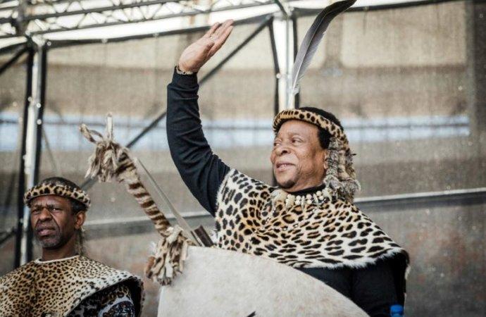 Afriquedu Sud: mort du roi zoulou Goodwill Zwelithini