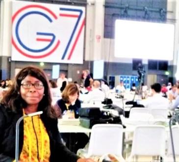 Anne Marie DWORACZEK BENDOME Photo G7 FRANCE 2019 - Qui est Anne Marie DWORACZEK-BENDOME ?