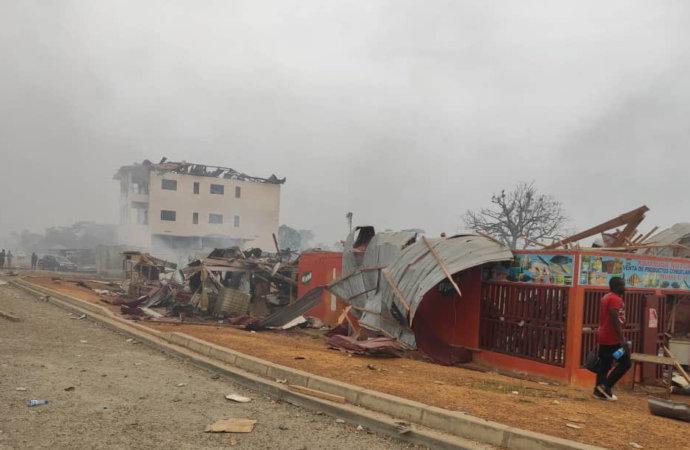 Explosions enGuinéeéquatoriale: le bilan s'alourdit, le président blâme les militaires