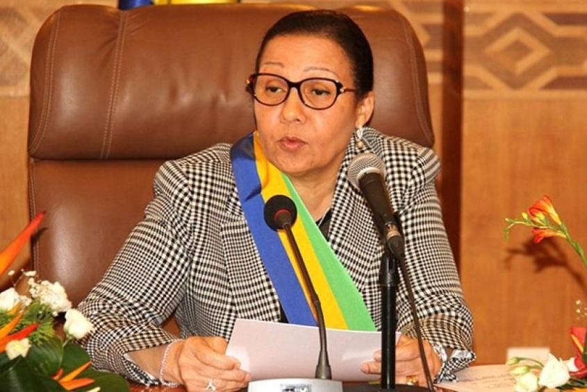 GabonSenatLucie Milebou Aubusson rempile - Gabon/Sénat:Lucie Milebou-Aubusson rempile
