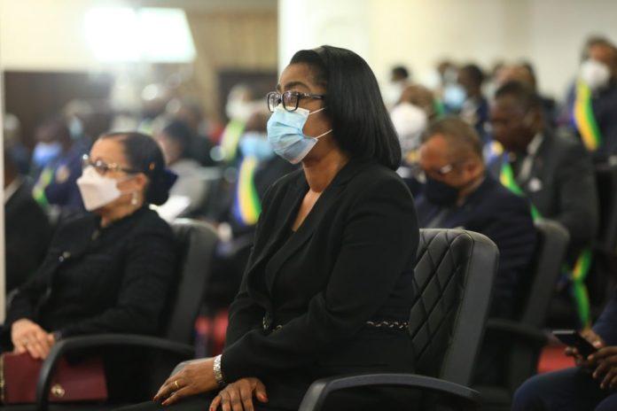 Le Gabon parmi les 3 pays dAfrique subsaharienne les plus - Le Gabon parmi les 3 pays d'Afrique subsaharienne les plus avancés en matière d'égalité femmes-hommes : « J'en suis l'une des nombreuses preuves », clame Rose Christiane Ossouka Raponda