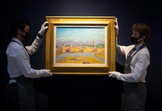 Quand Winston Churchill s'imprégnait de la lumière de Marrakech