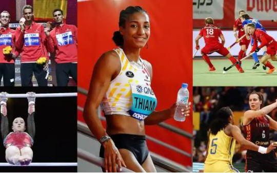 19 avril Atletes2 - Les athlètes belges vont se faire vacciner prioritairement pour les Jeux Olympiques, le personnel des prisons aussi !