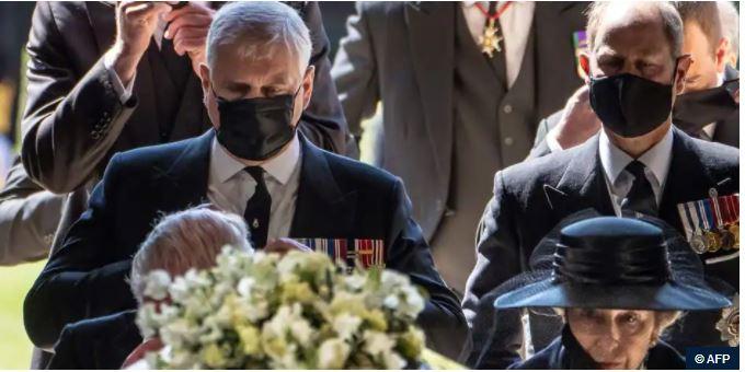 4bisFunrailles1 - Les funérailles du prince Philip, époux de la reine Elizabeth II d'Angleterre en quelques images