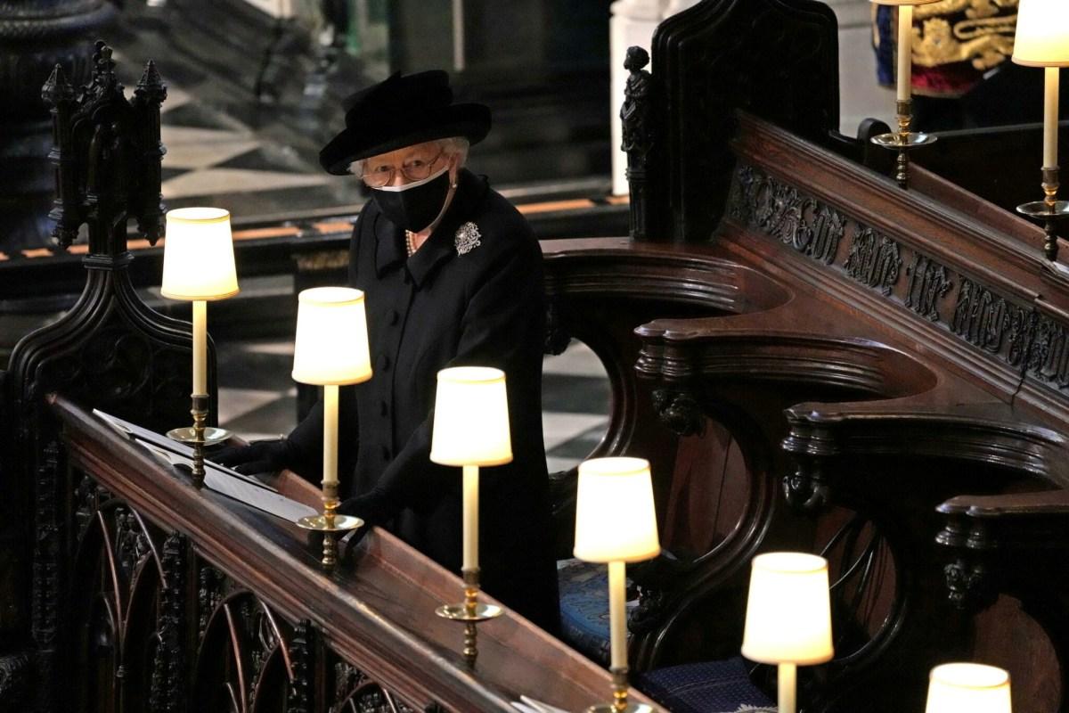 5Funrailles00 - Les funérailles du prince Philip, époux de la reine Elizabeth II d'Angleterre en quelques images