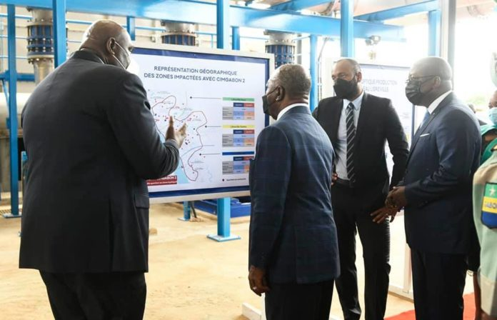 Gabon Ali Bongo Ondimba inaugure une station deau potable - Gabon : Ali Bongo Ondimba inaugure une station d'eau potable qui permettra de réduire de 50 % le déficit d'alimentation de Libreville