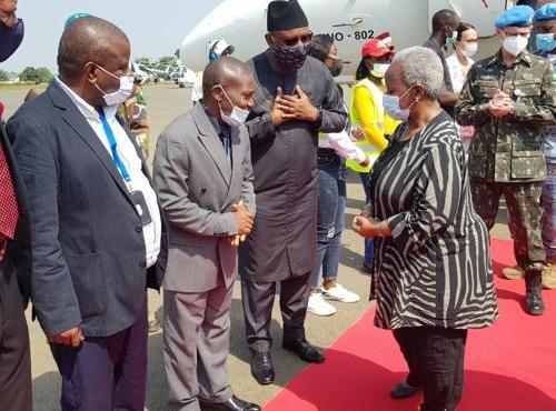 Le maire de Beni salue l'engagement de Bintou Keita à contribuer au retour de la paix
