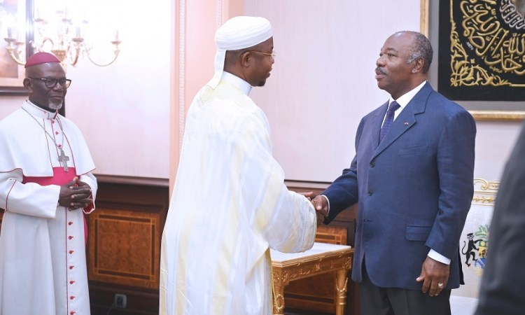 GabonAli Bongo Ondimba de tout coeur avec chretiens et musulmans - Gabon:Ali Bongo Ondimba de tout cœur avec chrétiens et musulmans