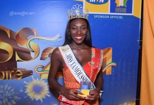 Preselections Miss Cote dIvoire Olivia Yace succede a Maryline - Présélections Miss Côte d'Ivoire : Olivia Yacé succède à Maryline Kouadio à Yamoussoukro