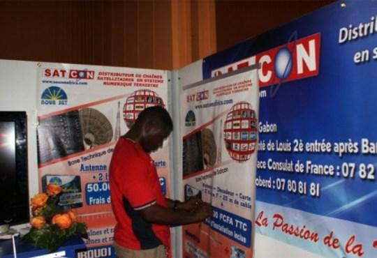 Satcon Libreville1 - Piratage audiovisuel : Satcon condamnée à payer une amende de 20 millions de francs
