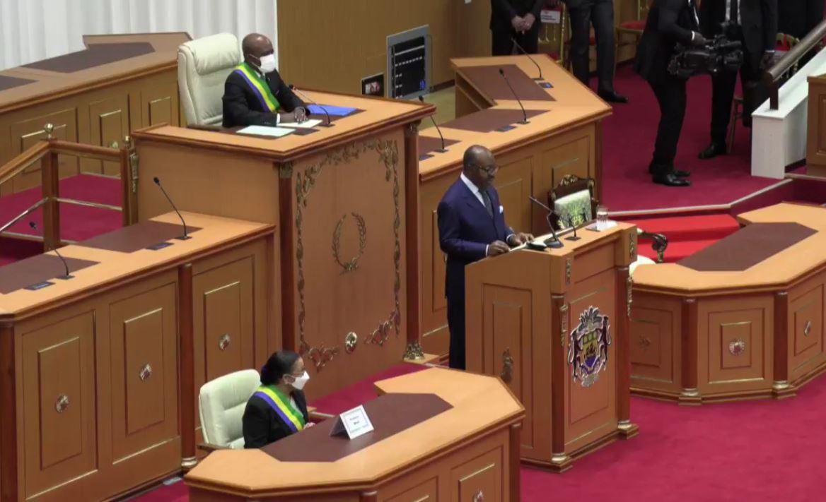 25 juin 2021, adresse du président de la république aux deux chambres parlementaires