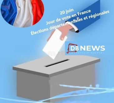France : vote, 1er tour des élections départementales et régionales